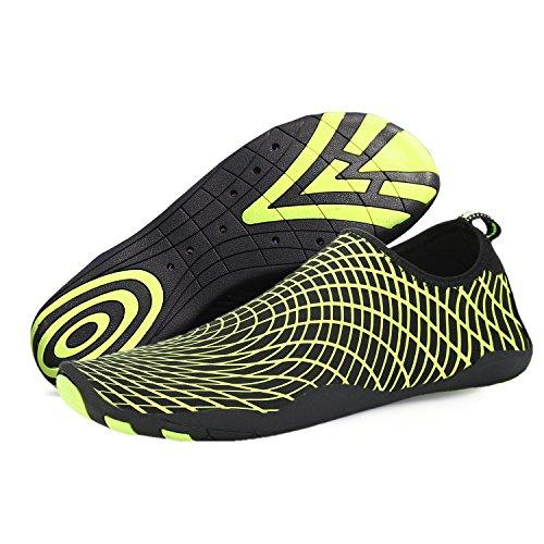 Peau Pieds Yoga Nus Plage Surf Nager Chaussures Pour Chaussettes De Jaune Aqua La Eau Saguaro FdpTTaq