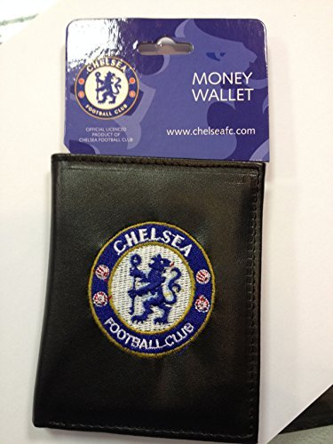 Official Chelsea Fc Leather Look Embroidered Money Wallet by Chelsea F.C.