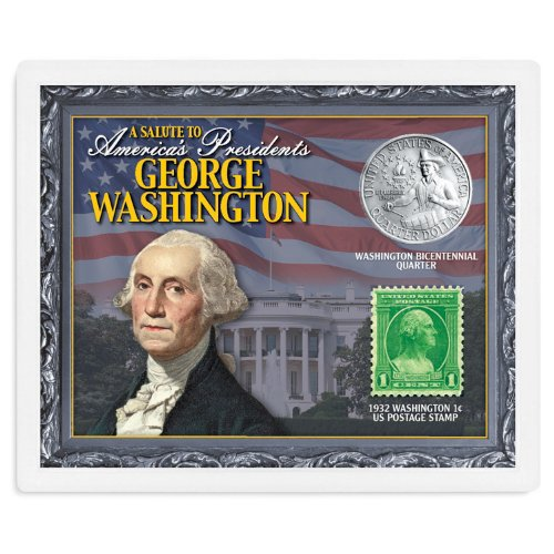 American Coin Treasures Kids - A Salute to America's Presidents - George Washington Coins & Stamps ()