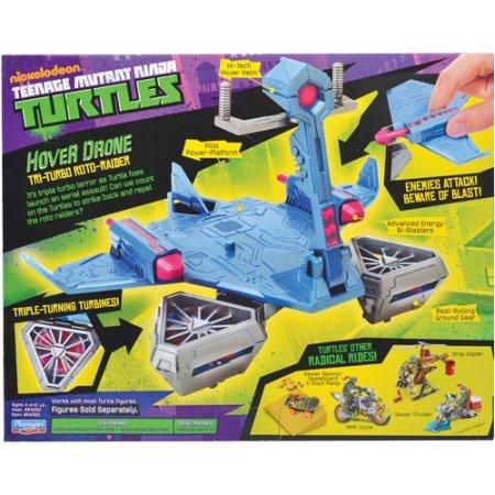 Amazon.com: Teenage Mutant Ninja Tri-Turbo Roto-Raider Turtles Hover Drone: Toys & Games