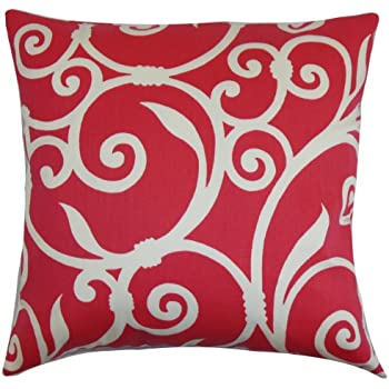 on sale the pillow collection jessamine coral pillow coral white - The Pillow Collection