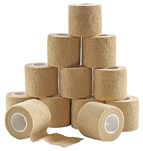 MEDca Self Adherent Cohesive Wrap Bandages 2 Inches X 5 Yard