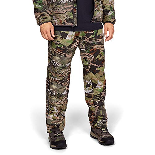 Under Armour Men's Brow Tine Pants, USA Forest Camo, Large
