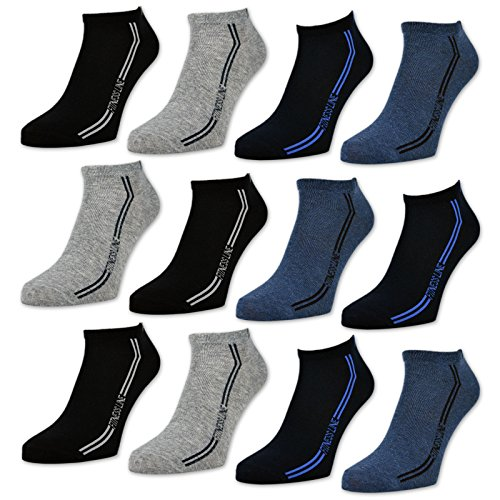pass sockenkauf24 herren sport sneaker socken 8 oder 12. Black Bedroom Furniture Sets. Home Design Ideas
