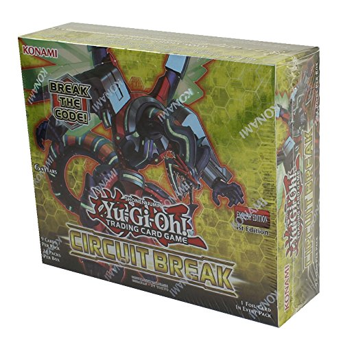 Yu-Gi-Oh 1x Circuit Break Booster Pack Buy 5 Packs and get 1 FREE