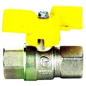 bola de la válvula grifo de 1/2 '' f / f ley en 331 para gas ciudad '/ gas natural, gas / líquido