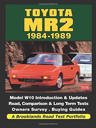 (Toyota MR2 1984-1989 (Road Test Portfolio))
