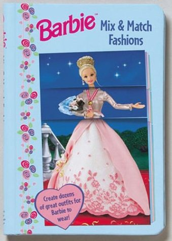 Barbie Mix and Match Fashions Sectioned Flip