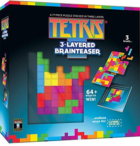 MasterPieces Tetris 3-Layered Brainteaser Puzzle