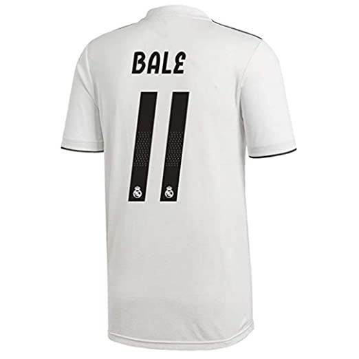 0e43823ee Real Madrid  11 Bale Soccer Jersey 18 19 Season Home Mens Color White Size