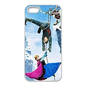 diy zhengHappy Frozen Princess Anna Kristoff Olaf Sven Cell Phone Case for Ipod Touch 5 5th /