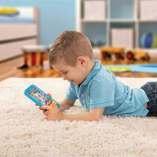 5188bEbqPoL - WowWee Pinkfong Baby Shark Smartphone - Educational Preschool Toy