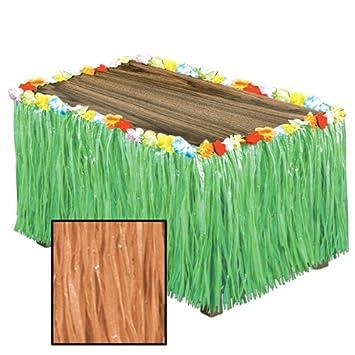 Amazon luau artificial natural grass table skirting 6 pieces luau artificial natural grass table skirting 6 pieces product description serve the watchthetrailerfo