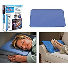 New CHILLOW Cooling Pillow Pad Device Insert Comfort Sleeping Therapy SEEN ON TV