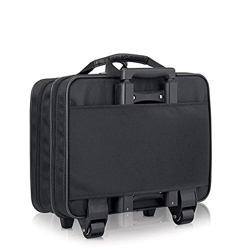 Solo Carnegie 15.6 Inch Rolling Laptop Case, Black by SOLO (Image #4)
