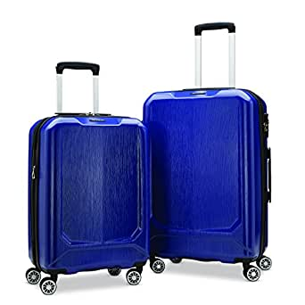 "Samsonite Duraflex Lightweight Hardside Set (20""/24""), Only at Amazon, Blue"