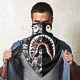 Bape Camo Blood Shark Sports Face