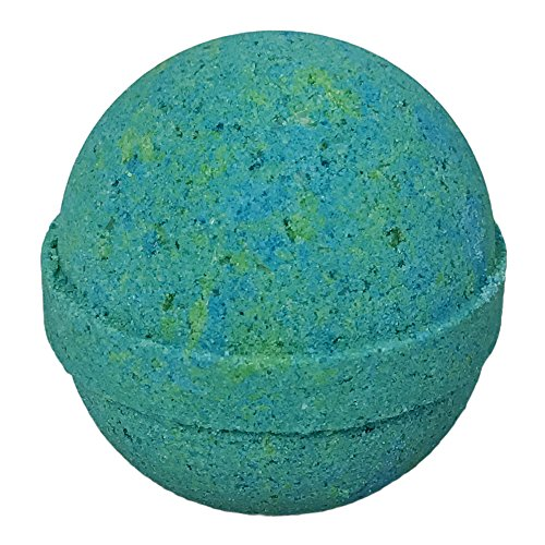 Eucalyptus Spearmint BUBBLE Bath Bomb in Gift Box - Large Lush Spa Fizzy Kit, Best Gift Idea for Women, Moms, Teens, Girls - Homemade by Moms in the USA - Two Sisters Spa