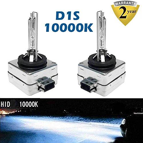 10000 K D1S/D1 C/D1R HID lampadina blu intenso Xenon lampade 35 W fari auto sostituzione 35 W OEM 85415 C1 85415 66141 66142 Plug & Play (set da 2) Autofather factory