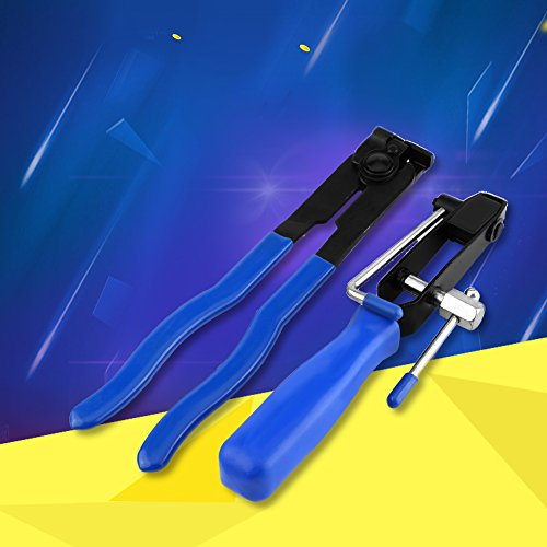 Price comparison product image CV Joint Boot Clamp Pliers Set, Heavy Duty CV Joint Banding Tool for Auto Car Ear-Type Hose Clips