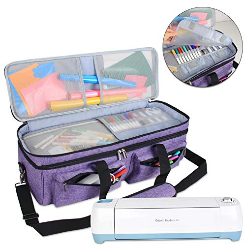 Luxja Double-Layer Bag Compatible