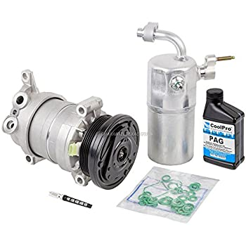 AC Compressor w/A/C Repair Kit For Chevy Silverado 1500 & GMC Sierra 1500 - BuyAutoParts 60-80142RK New