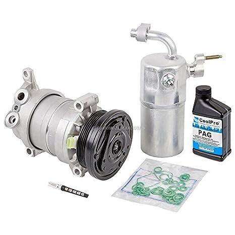 Nueva AC Compresor y embrague con completa a/c Kit de reparación para Chevy Silverado GMC - buyautoparts 60 - 80142rk nuevo: Amazon.es: Coche y moto