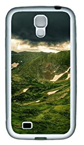 Green Mountain TPU Rubber Soft Case Cover For Samsung Galaxy S4 SIV I9500 White