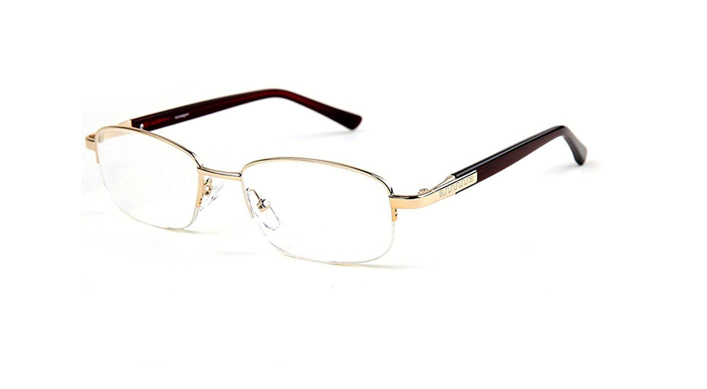 8e80572403ab Amazon.com  New Mens Real Acrylic Reading Glasses Stainless Steel Designer  Acetate Frame