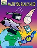 img - for Math You Really Need by Robert Gardner (1996-01-01) book / textbook / text book