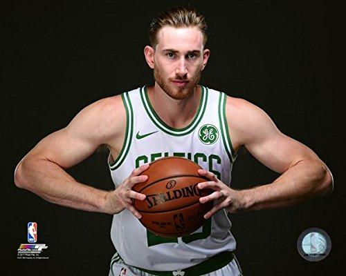 ゴードンヘイワードBoston Celtics 2017 NBA Studio Posedフォト(サイズ: 8