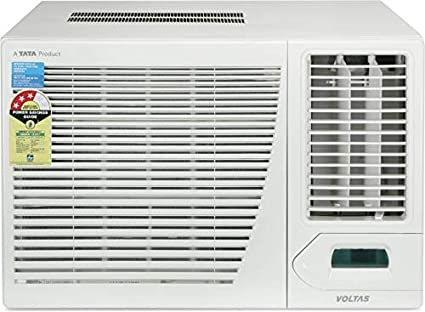 Voltas 1.5 Ton 3 Star Window AC  Copper, 183CYA/183 CZP, White  Air Conditioners