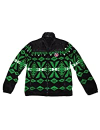Polo Ralph Lauren Mens Downhill Racing Lightweight Fleece Jacket Green (XL)