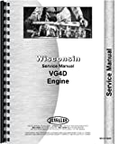 Ditch Witch R-40 Trencher Wisconsin Engine Service Manual (Engine)