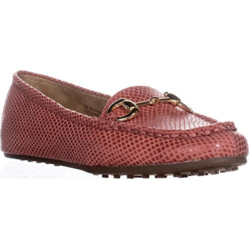 Aerosoles Womens Drive Through Closed Toe Loafers, Coral Snake, Size 8.0