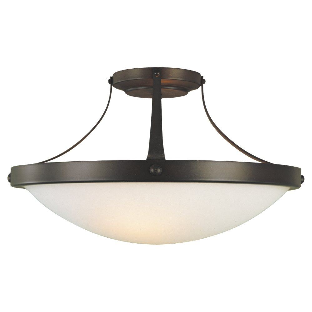 murray feiss sf187orb boulevard 2 light indoor semiflush mount oil rubbed bronze semi flush mount ceiling light fixtures amazoncom