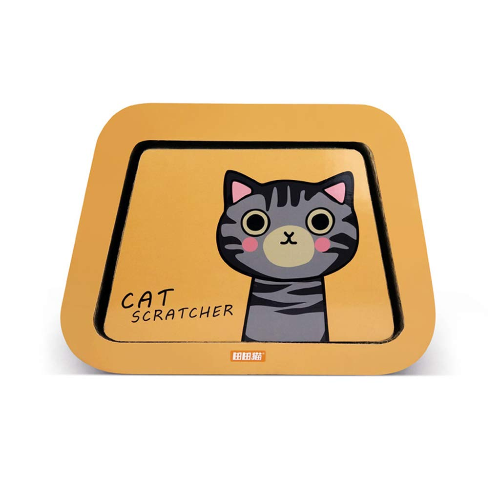 CXQ Cute Creative Shorthair Cat Cartoon Combination Corrugated Paper Cat House Cat Tent Cat Scratch Board Cat Litter Cat Sofa Toy