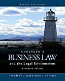 img - for Anderson's Business Law and the Legal Environment, Standard Volume book / textbook / text book