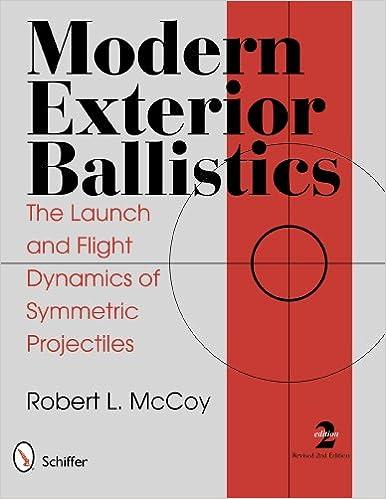 Amazon modern exterior ballistics 9780764338250 robert l modern exterior ballistics 2nd edition edition ibookread ePUb