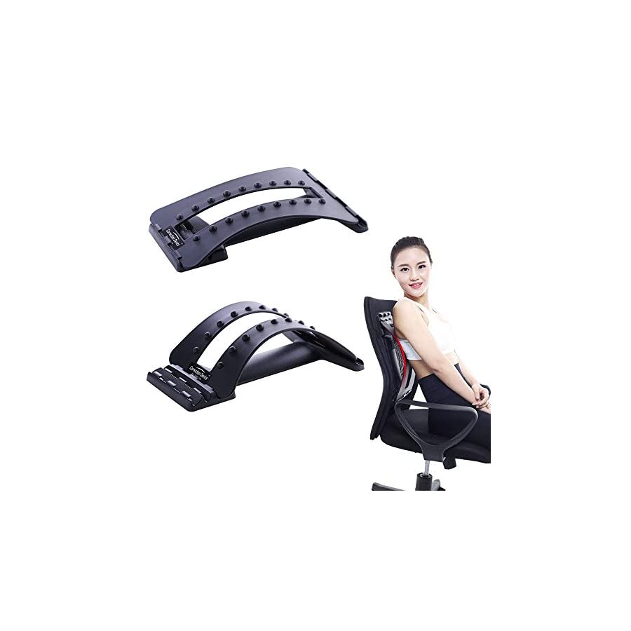 Chonlakrit 2017 New Back Massage Magic Stretcher Fitness Equipment Stretch Relax Mate