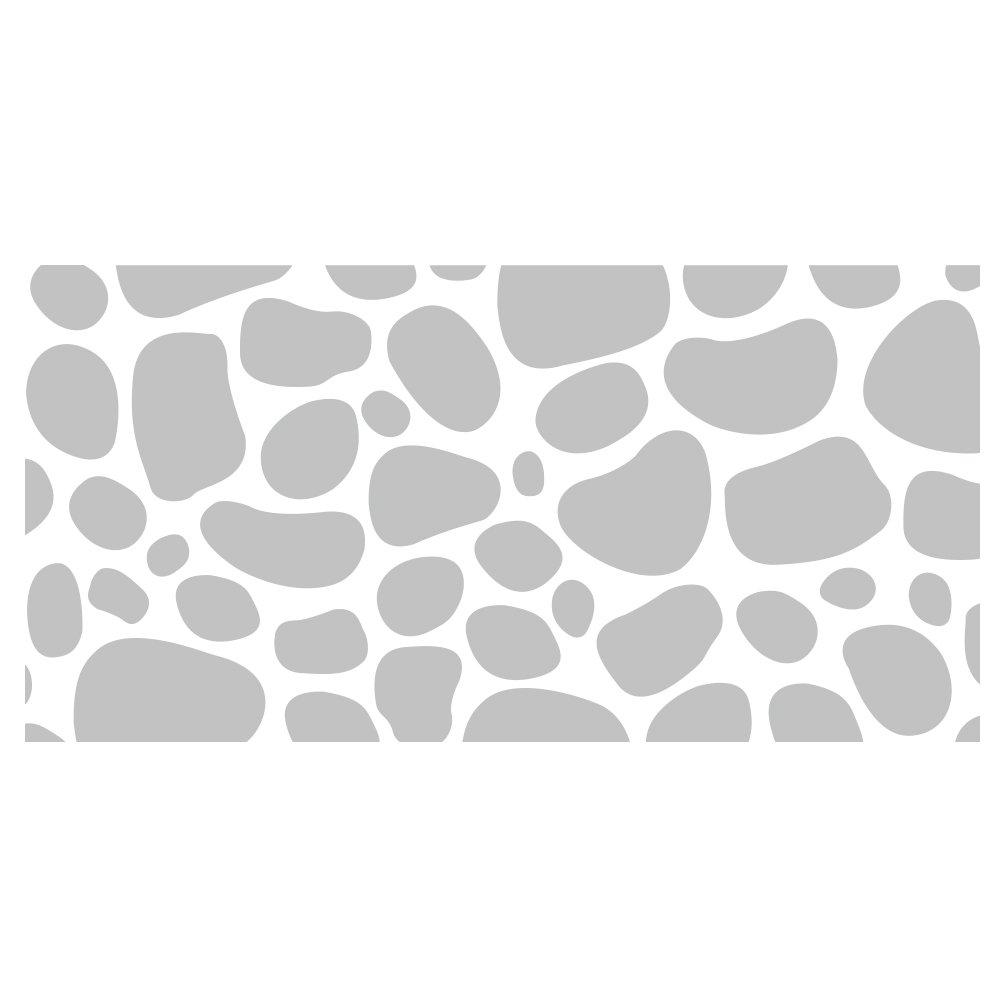"""Wandkings Milchglasfolie """"Steinmauer Motiv"""" 100 x 50 cm B x H"""