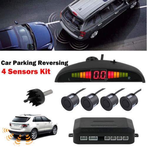 eSynic Rear Reversing Car Parking Sensors 4 Sensors Kit: Electronics