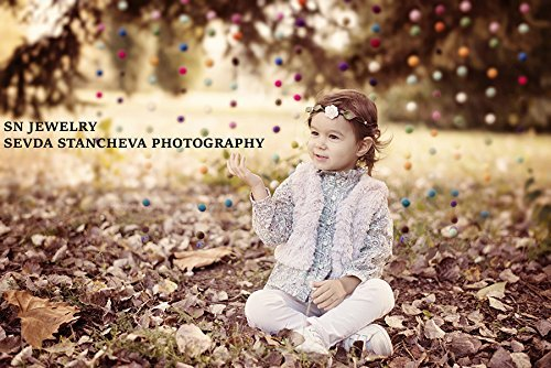 Floral Hair Wreath. Bridal Flower Crown. White Rose Wedding Floral Headband. Woodland Hairpiece. Flower girl Crown Newborn Photography Props