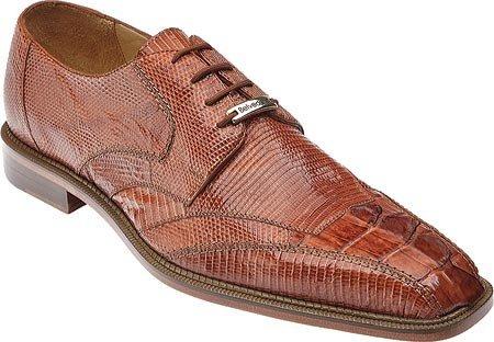 Belvedere Men's Topo,Cognac Hornback/Lizard,US 13 (Mens Brown Belvedere)