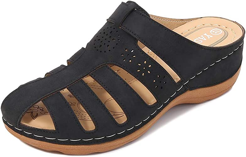 ZAPZEAL Womens Mule Clogs Sandals