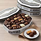 See's Candies Keepsake Tin - Holiday Chocolates Traditional Gift Set - 31 pieces