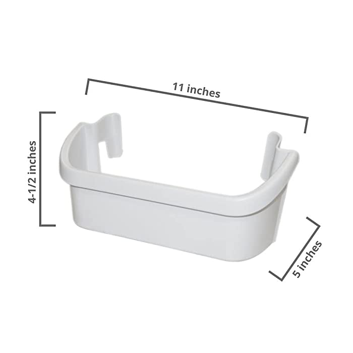Frigidaire 240367301 Freezer Door Shelf Bin White