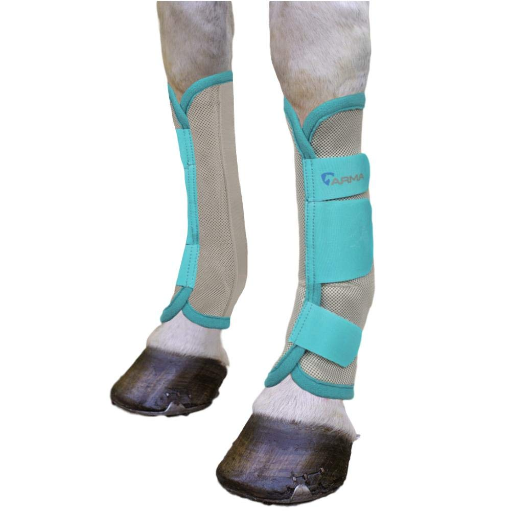 Shires Air Flow Fly Boots Full Teal