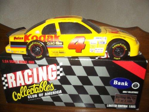 Racing Collectables Bank  4 Kodak Sterling Marlin 1995 Monte Carlo  1 Of 2 508