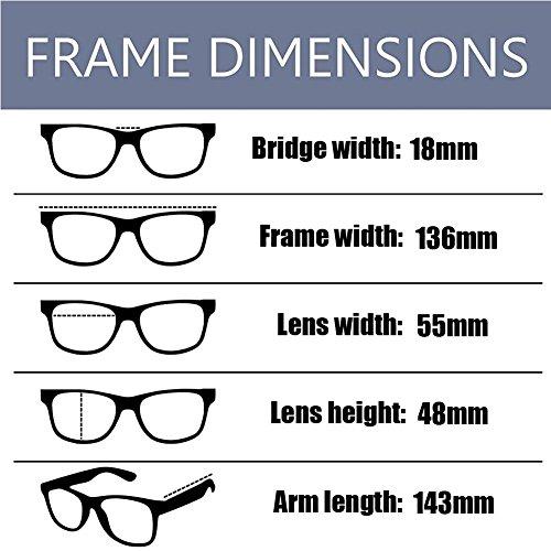 Gafas fatiga de Mujer ojos Vintage Xinvision Previniendo Filtro Moda azul los Anti Carey Computadora Hombre luz Claro Lente 4qEBUXwO